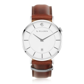 Douglas Watch, white/brown
