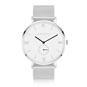 Gustaf Watch Mesh, white