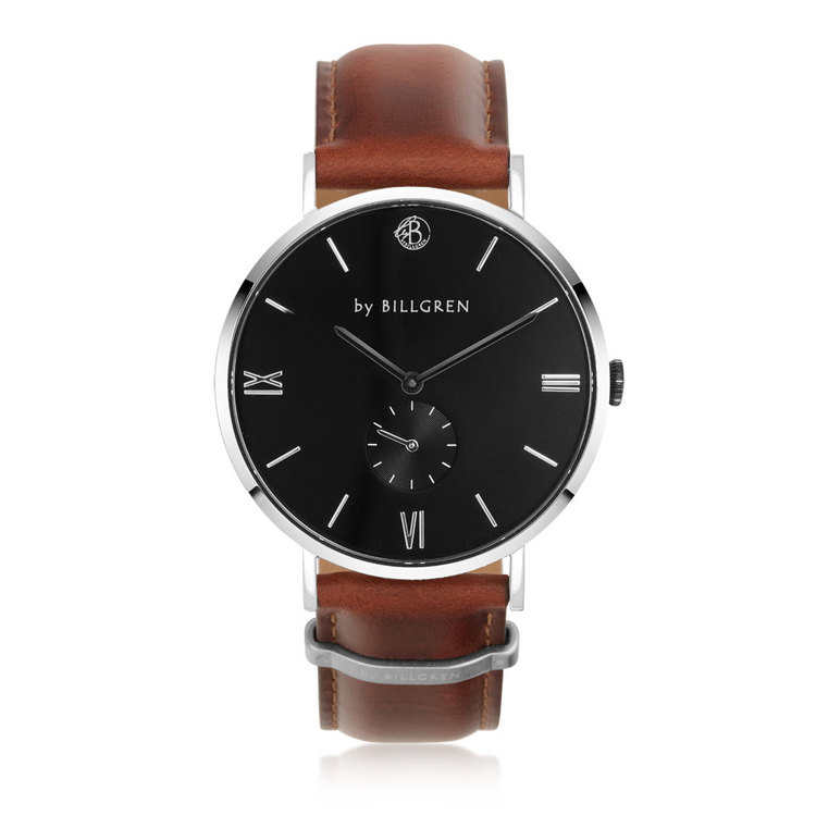 Gustaf Watch, black/brown