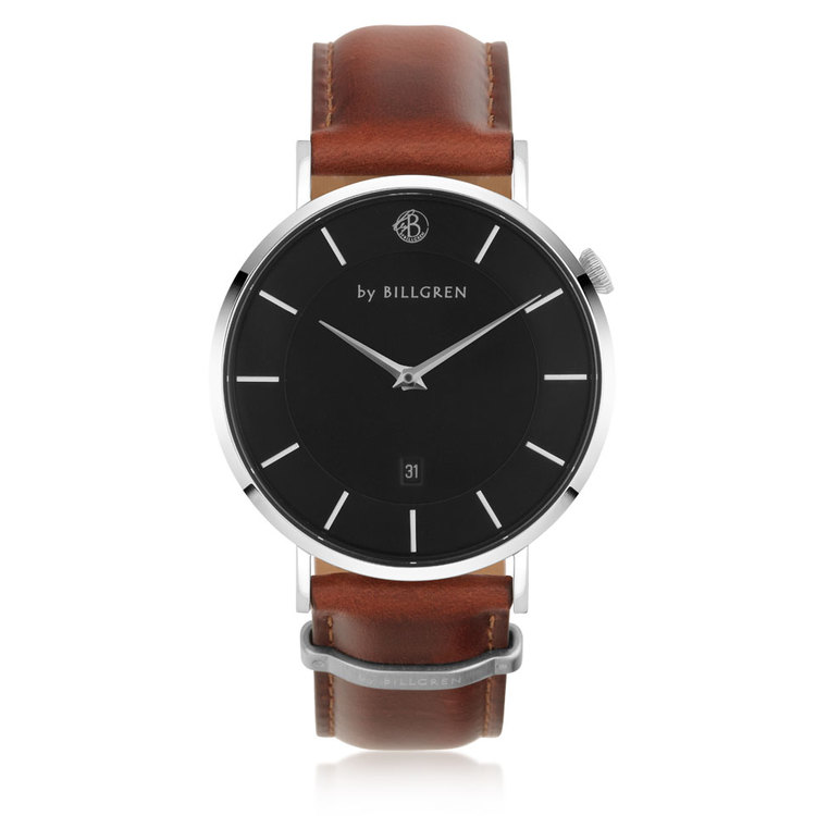 Douglas Watch, black/brown