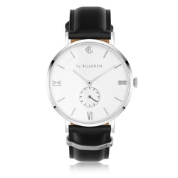 Gustaf watch, white/black