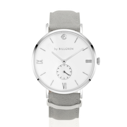 Gustaf Watch, grey/white