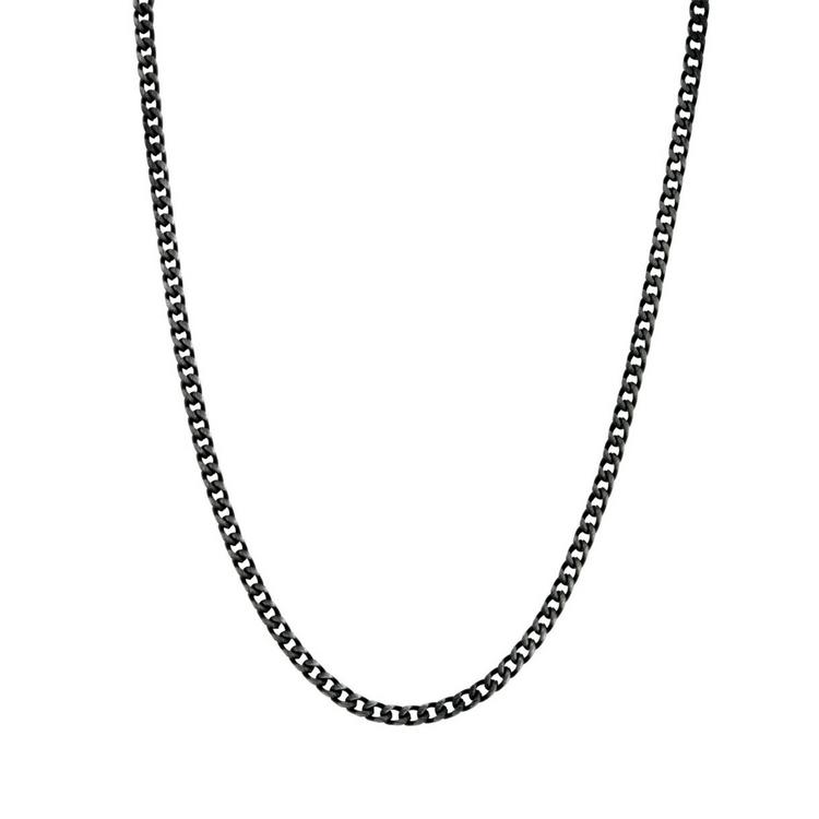 Necklace, chain, black
