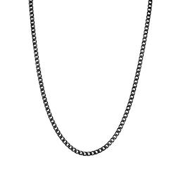 Halsband, kedja, svart