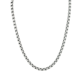 Halsband, kedja, stål/silver