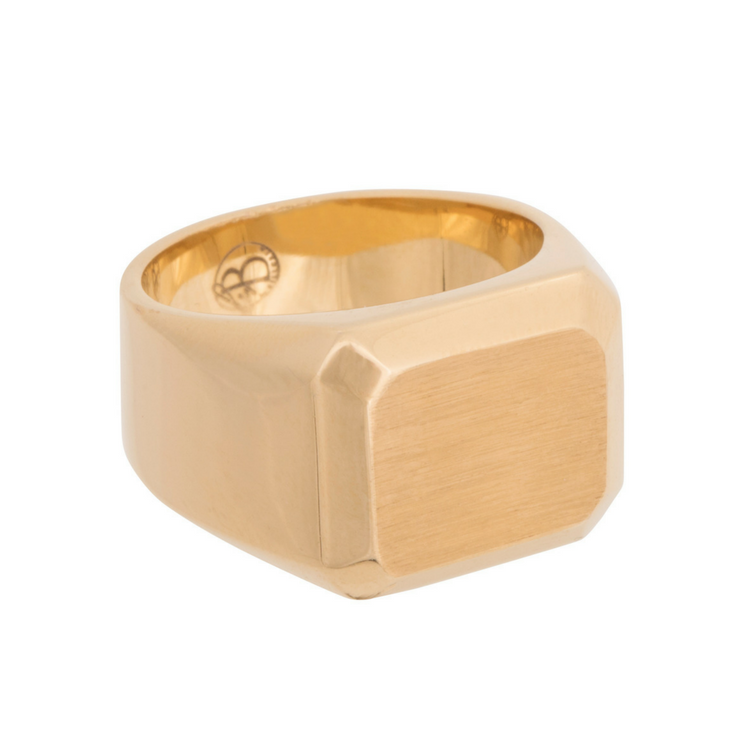 Signet ring, gold