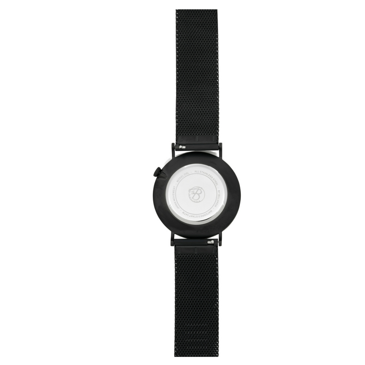 Douglas Watch, Black Mesh, black