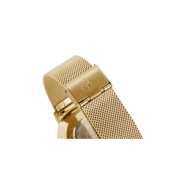 Watch strap, mesh, gold
