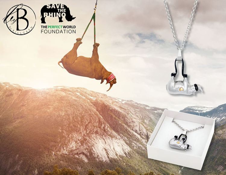 Necklace, Save The Rhino