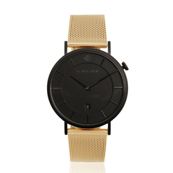 Douglas Watch, Gold Mesh, matte black
