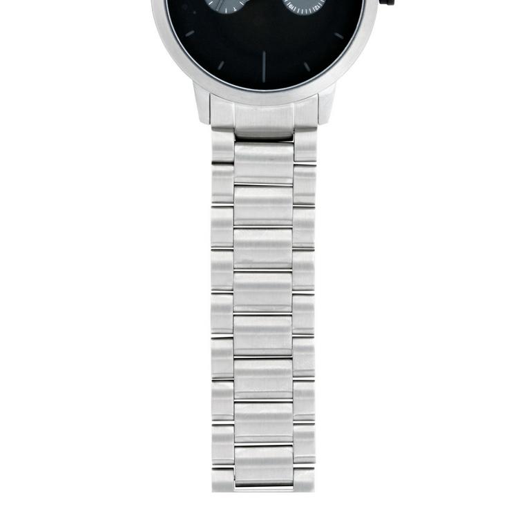 Malcom Klocka, Schweiziskt urverk, svart/stål