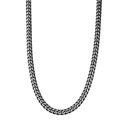 Necklace, IP, black