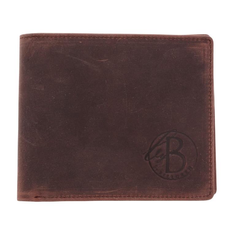 Plånbok läder brun