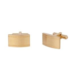 Manschettknappar, square, guld