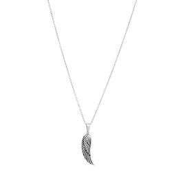 Halsband, vinge, stål/silver