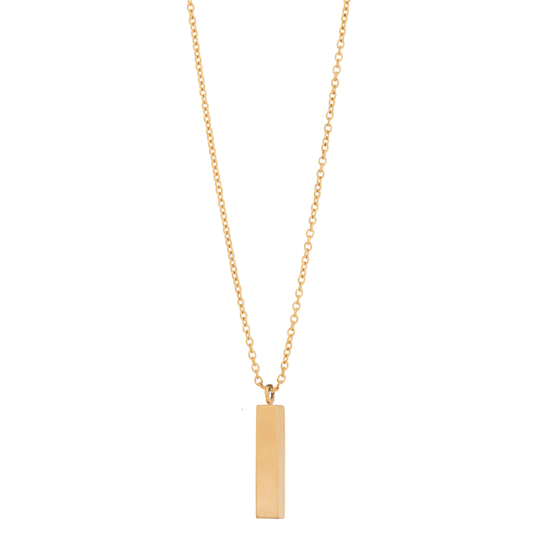 Necklace, gold