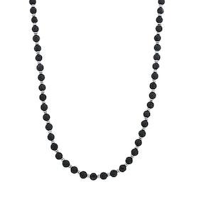 Halsband, beads, lavasten