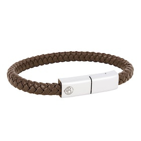Charging Bracelet, Brown, Android