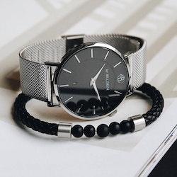 Set med meshklocka + armband