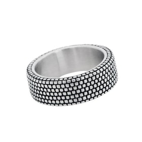 Ring, pattern, silver