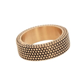 Ring, pattern, gold
