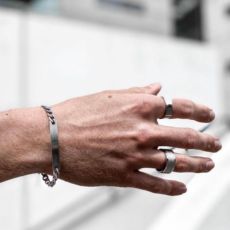 Ring, steel