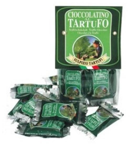 Chokladbitar med svart tryffel 50 gr