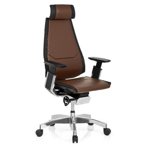Ergonomisk kontorsstol, Minna Pro Skinn - Flera färgval