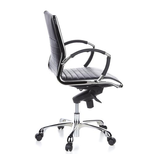 Skrivbordsstol, Novella Låg - Skinn Färgval