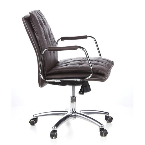 Konferensstol/skrivbordsstol, Gentle Low - Nappaläder