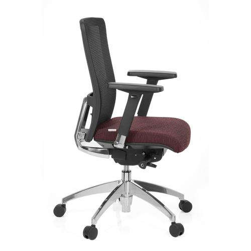 Kontorsstol, Luxy tygsits/nät - Färgval