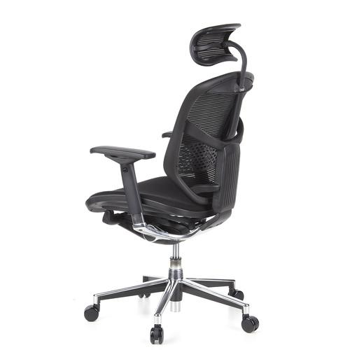 Skrivbordsstol, Deskia - Nätrygg & nackstöd