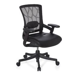 Skrivbordsstol, Odette Base - Lädersits