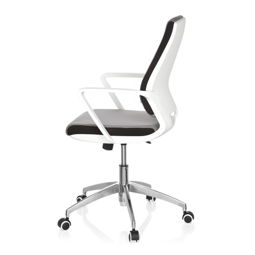 Skrivbordsstol, Lineer - Vitt skal