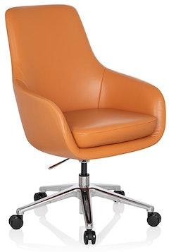 Konferensstol på hjul, Boardroom - Skinn