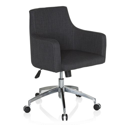 Konferensstol på hjul, Wilma Pro - Höj- och sänkbar