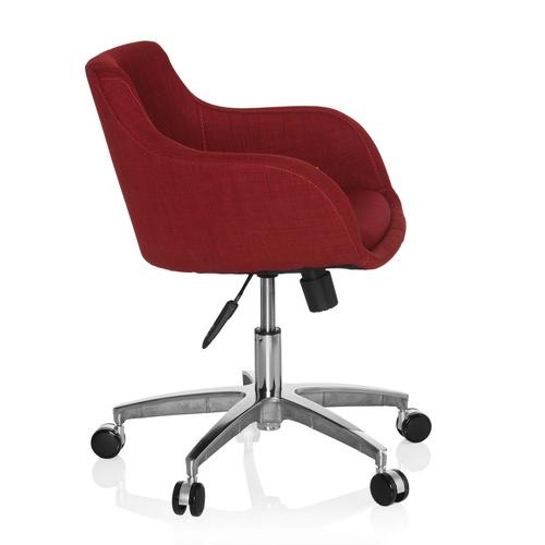 Konferensstol på hjul, Wilma - Tygklädsel