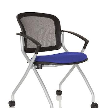 2-pack - Konferensstol på hjul - Priority Base