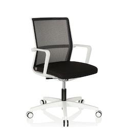 Kontorsstol, MOVE-TEC 3D - Svart / Vit
