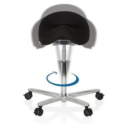 Ergonomisk arbetspall med sadelsits, MOVE-TEC 3D PRO