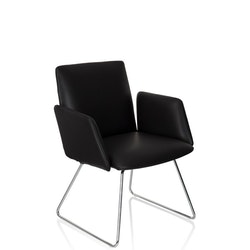 Besöksstol / konferensstol, Designia - Flera färger