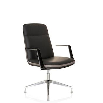 Konferesstol / besöksstol, Atmos i konstläder