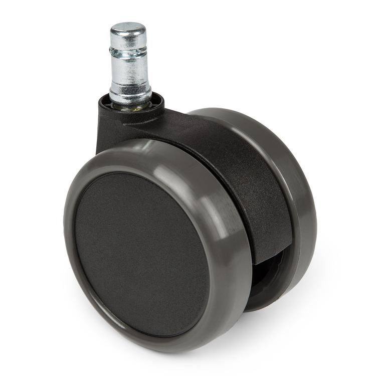 5-pack stolshjul för hårda golv ROLOS 11 mm / 65 mm