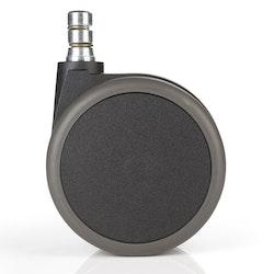 5-pack stolshjul för hårda golv ROLOS 11 mm / 75 mm - Low Noise Technology