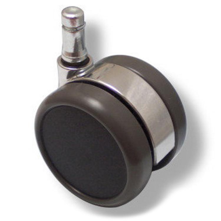 5-pack Design stolshjul ROLOS LUX 11 mm / 65 mm - Hjul för hårda golv