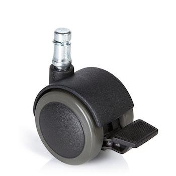 5-pack hjul för hårda golv ROLOS STOP 11 mm / 50 mm