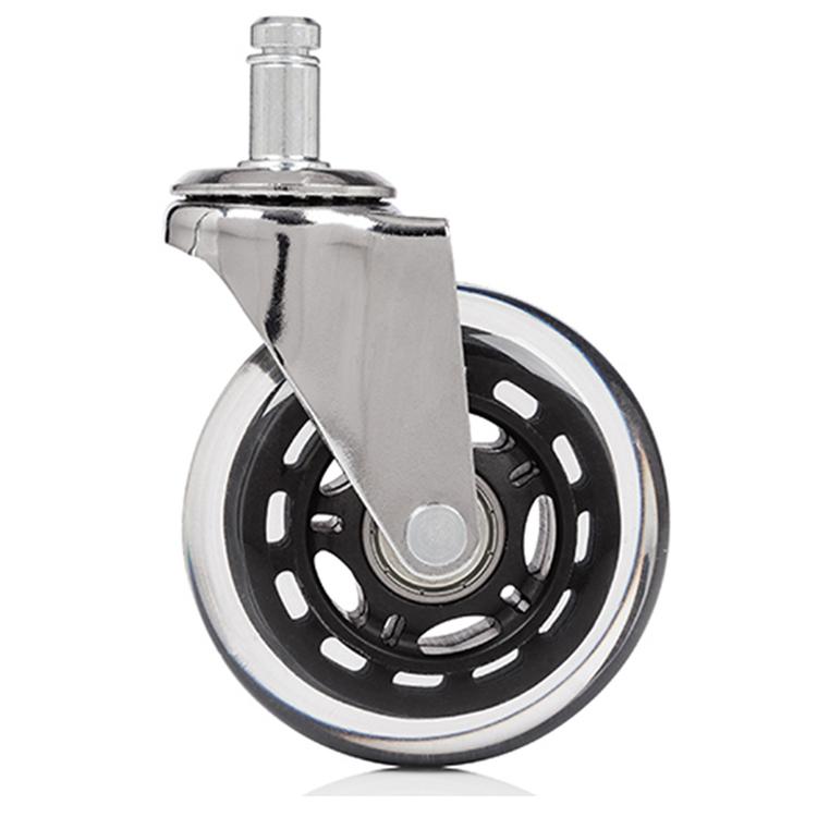 5 x hjul för hårda golv ROLOS XL 11 mm / 75 mm