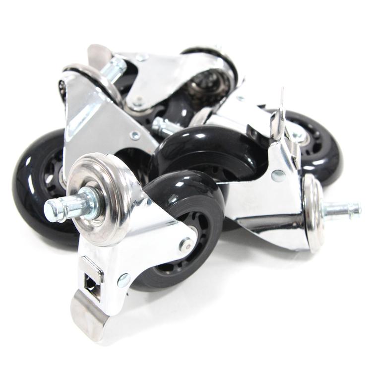 5-pack hjul för hårda golv ROLOS XL 11 mm / 75 mm