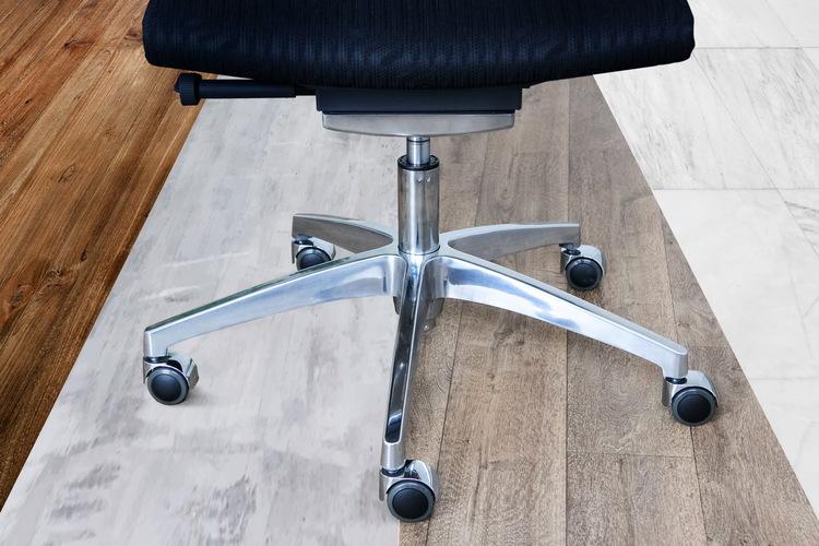 5 x Designhjul ROLOS LUX för hårda golv 10mm / 50mm