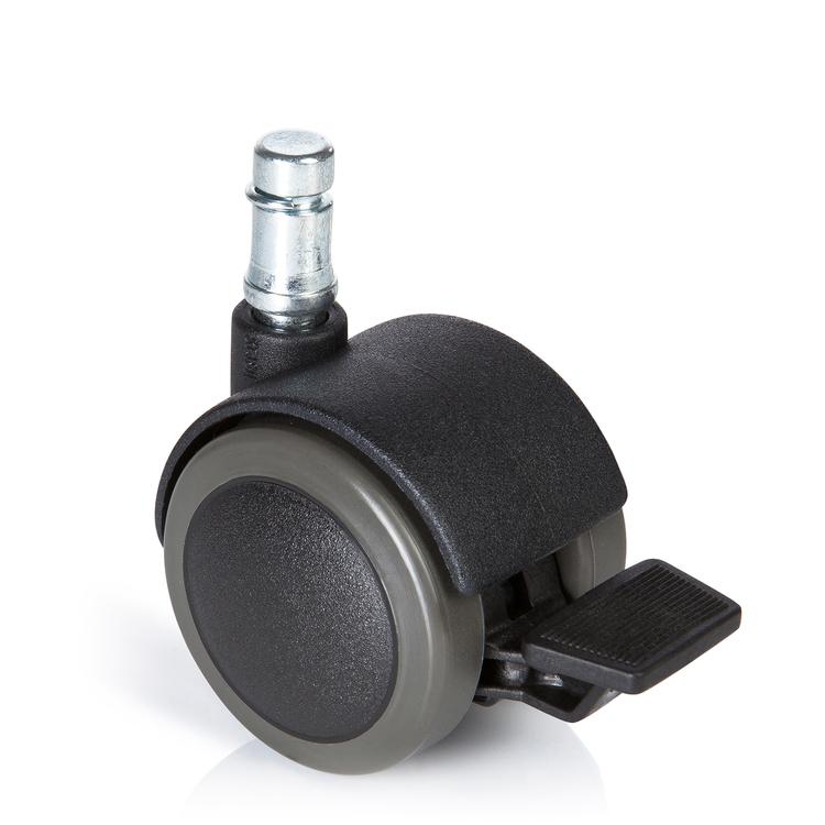 5-pack stolshjul för hårda golv ROLOS STOP 10 mm / 50 mm